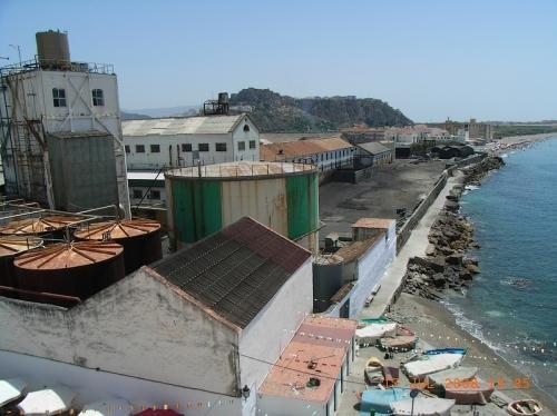 The old sugar cane factory in La Caleta