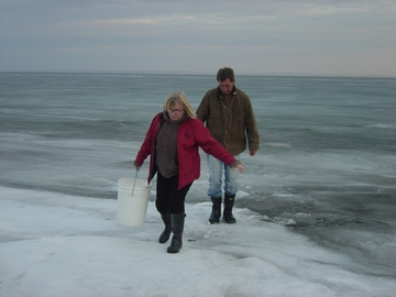 Getting Water from Lake Superior