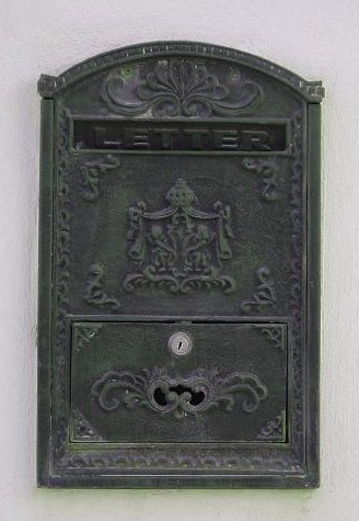 Just a cool old letter box