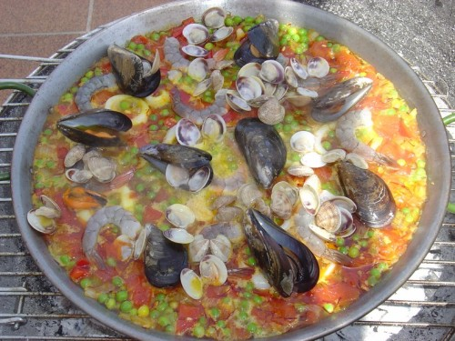 One of the many tapas sure to be available, delicious Paella