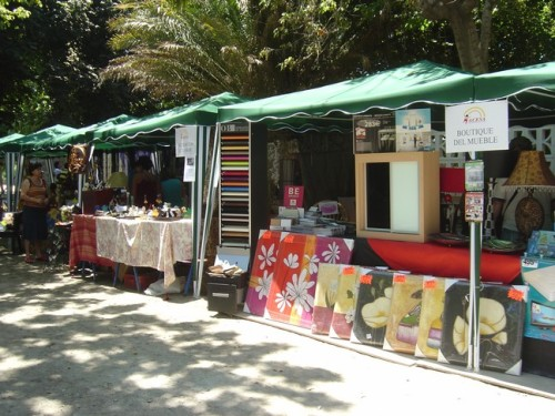 More stalls at the fair