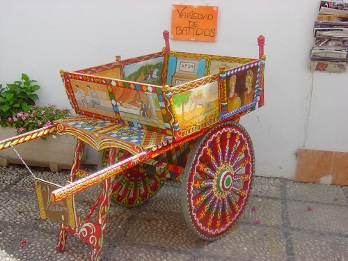 Vendors Wagon.