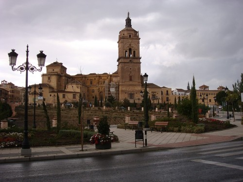 The Cathedral in Guadix