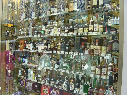 Liqour and Cigarettes are very cheap here.. actually a lot of the liquour is cheaper in Spain.