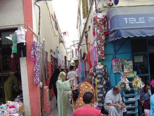 Market in Tanger more more more